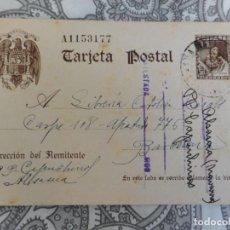 Sellos: ANTIGUA TARJETA POSTAL.JERONIMO EGUES.CAPUCHINOS.ALSASUA.NAVARRA 1941. Lote 276962178