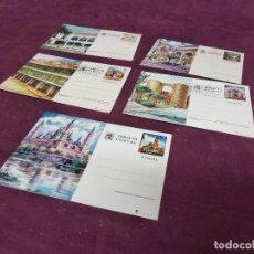 Selos: LOTE DE 5 ENTERO POSTALES DIFERENTES, ESPAÑA, 1980´S. Lote 287700943