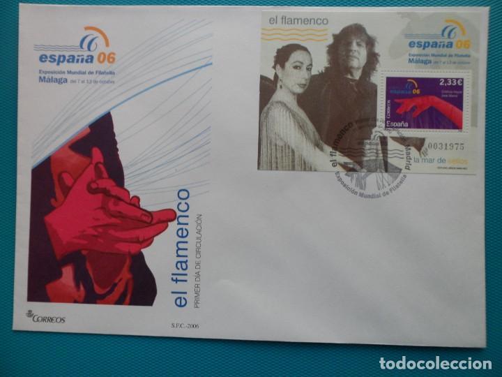 Sellos: 2006-ESPAÑA-FDC-HOJITA-BLOC-(SOBRE GRANDE)-EXPO.MUNDIAL DE FILATELIA ESPAÑA 06-MALAGA(7 FDC) - Foto 5 - 289601023