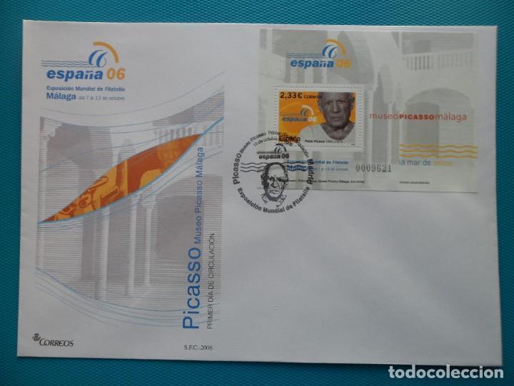 Sellos: 2006-ESPAÑA-FDC-HOJITA-BLOC-(SOBRE GRANDE)-EXPO.MUNDIAL DE FILATELIA ESPAÑA 06-MALAGA(7 FDC) - Foto 7 - 289601023