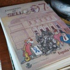 Francobolli: 10 AÑOS DE EMISIONES DE SELLOS ESPAÑA 1987 A 1997. Lote 293211263