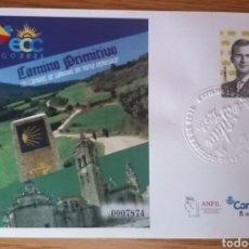 Selos: ¡NOVEDAD! ESPAÑA 2021 EXFILNA LUGO ECC MATASELLADO EN SECO SOBRE ENTERO POSTAL SEP EDIFIL 154. Lote 295481738