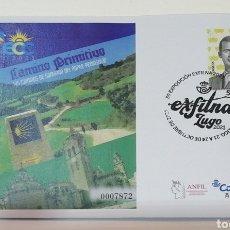 Selos: ¡NOVEDAD! ESPAÑA 2021 EXFILNA LUGO ECC MATASELLADO EN TINTA SOBRE ENTERO POSTAL SEP EDIFIL 154. Lote 295614963