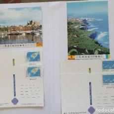 Selos: TARJETAS DEL CORREO BALEARES Y CANARIAS. Lote 295811513
