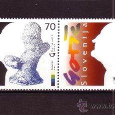 Sellos: ESLOVENIA 185/86*** - AÑO 1997 - CENTENARIO DEL NACIMIENTO DEL ESCULTOR F. GORSE . Lote 23564750