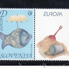 Sellos: ESLOVENIA 436 SIN CHARNELA, TEMA EUROPA, VACACIONES, . Lote 25633309