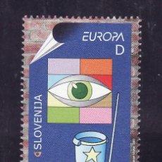 Sellos: ESLOVENIA 391 SIN CHARNELA, TEMA EUROPA, EL ARTE DEL CARTEL, . Lote 25633322