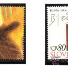 Sellos: ESLOVENIA.- MICHELL Nº 272/73 EN NUEVOS. Lote 36037643