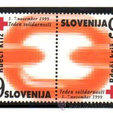 Sellos: ESLOVENIA.- MICHELL Nº Z19/Z20 EN NUEVO. Lote 135601281