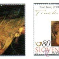 ESLOVENIA.- MICHELL Nº 324/25 EN USADO
