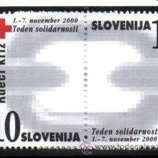 Sellos: ESLOVENIA.- MICHELL Nº Z22/Z23 EN NUEVO. Lote 150531078