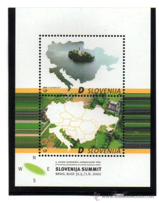 ESLOVENIA.- MICHELL HOJA BLOQUE Nº 15 EN NUEVO (Sellos - Extranjero - Europa - Eslovenia)