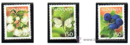 ESLOVENIA.- MICHELL Nº 404/406 EN NUEVO (Sellos - Extranjero - Europa - Eslovenia)
