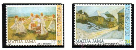 ESLOVENIA.- MICHELL Nº 409/410 EN NUEVO (Sellos - Extranjero - Europa - Eslovenia)