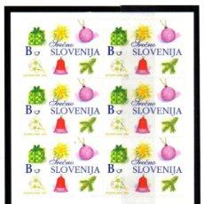 Sellos: ESLOVENIA.- CARNET CON 12 SELLOS AUTOADHESIVOS MICHELL Nº 447, EN NUEVO. Lote 36067445