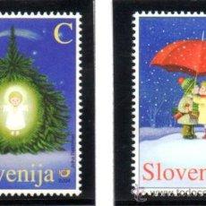 Sellos: ESLOVENIA.- MICHELL Nº 490/91,EN NUEVO. Lote 36083003
