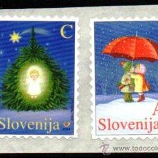 Sellos: ESLOVENIA.- MICHELL Nº 492/93,EN NUEVO. Lote 36083011