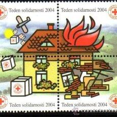 Sellos: ESLOVENIA.- MICHELL Nº Z34/Z37, EN NUEVO. Lote 135601450