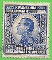 ESLOVENIA, CROACIA Y SERBIA - MICHEL 180 - YVERT 162 - REY ALEXANDER. (1924). (Sellos - Extranjero - Europa - Eslovenia)