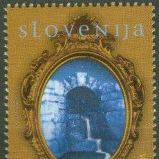 Sellos: ESLOVENIA 2001 AGUA TESORO NATURAL YV-322 NUEVO LUJO MNH *** SC. Lote 49616393