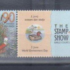 Sellos: ESLOVENIA 2000 EXPO FILATELIA CON BANDELETA NUEVO LUJO MNH ***. Lote 49664145