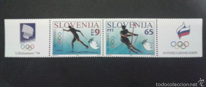 SELLOS DE ESLOVENIA. DEPORTES. YVERT 74/5. SERIE COMPLETA NUEVA SIN CHARNELA. (Sellos - Extranjero - Europa - Eslovenia)