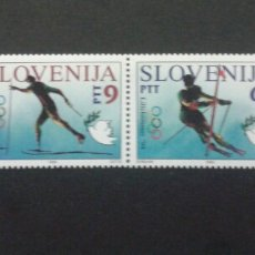 Sellos: SELLOS DE ESLOVENIA. DEPORTES. YVERT 74/5. SERIE COMPLETA NUEVA SIN CHARNELA.. Lote 57740735
