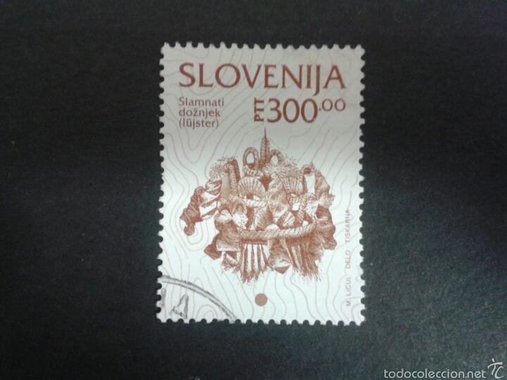 SELLOS DE ESLOVENIA. YVERT 91. SELLO SUELTO USADO. (Sellos - Extranjero - Europa - Eslovenia)