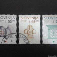 Sellos: SELLOS DE ESLOVENIA. YVERT 136/8. SERIE COMPLETA USADA.. Lote 57758686