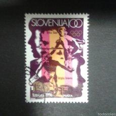 Sellos: SELLOS DE ESLOVENIA. YVERT 155. SELLO SUELTO USADO. DEPORTES. Lote 57758763
