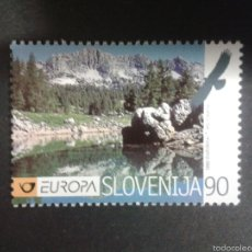 Sellos: SELLOS DE ESLOVENIA. EUROPA CEPT. YVERT 235. SERIE COMPLETA NUEVA SIN CHARNELA.. Lote 57776241