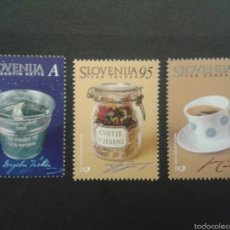 Sellos: SELLOS DE ESLOVENIA. YVERT 313/5. SERIE COMPLETA NUEVA SIN CHARNELA.. Lote 57841765