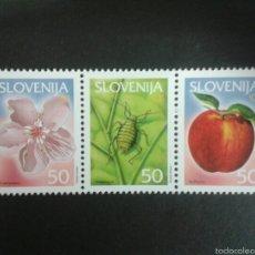 Sellos: SELLOS DE ESLOVENIA. YVERT 329/30. SERIE COMPLETA NUEVA SIN CHARNELA.. Lote 57841803