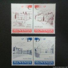 Sellos: SELLOS DE ESLOVENIA. YVERT 338/41. SERIE COMPLETA NUEVA SIN CHARNELA.. Lote 57860394