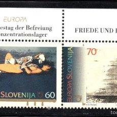 Sellos: ESLOVENIA 104/05** - AÑO 1995 - EUROPA - PAZ Y LIBERTAD. Lote 60907475