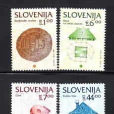 Sellos: ESLOVENIA 37/40** - AÑO 1993 - PATRIMONIO CULTURAL. Lote 61448767