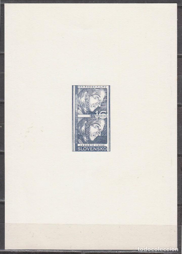 ESLOVENIA CINE: CENTENARIO DE CINE . PELICULA JANOSIK (1936), PRUEBA DE ESTADO (Sellos - Extranjero - Europa - Eslovenia)