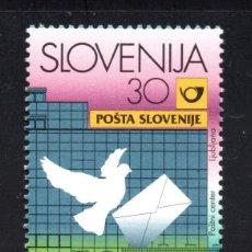 Sellos: ESLOVENIA 195** - AÑO 1997 - NUEVO CENTRO POSTAL DE LJUBLJANA. Lote 68641397