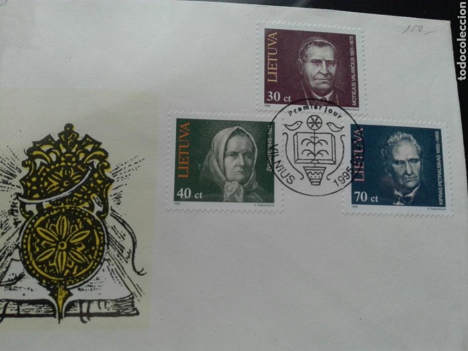 LIETUVA 1995 (Sellos - Extranjero - Europa - Eslovenia)