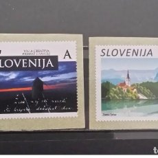 Sellos: SLOVENIA 2017 - DEFINITIVES 2017 STAMP SET MNH. Lote 92756885