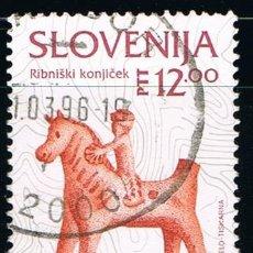 Sellos: ESLOVENIA - LOTE DE 1 SELLO - ARTESARIA (USADO) LOTE 2. Lote 99859511