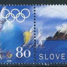 Sellos: ESLOVENIA 2000 IVERT 271/2 *** JUEGOS OLIMPICOS DE SYDNEY - DEPORTES. Lote 103622555
