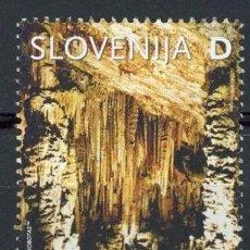 Sellos: ESLOVENIA 2003 IVERT 385 *** TURISMO - GRUTA DE VILENICA. Lote 103623539