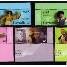 Sellos: SELLOS USADOS ESLOVENIA, YT 706/ 10. Lote 104789227