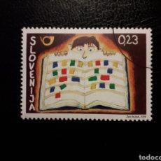 Sellos: ESLOVENIA. AÑO 2008. 1 VALOR. SERIE COMPLETA USADA.. Lote 138837205
