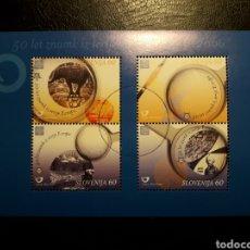 Briefmarken - ESLOVENIA. YVERT HB 22. SERIE COMPLETA USADA. EUROPA. SELLOS SOBRE SELLOS - 138839354
