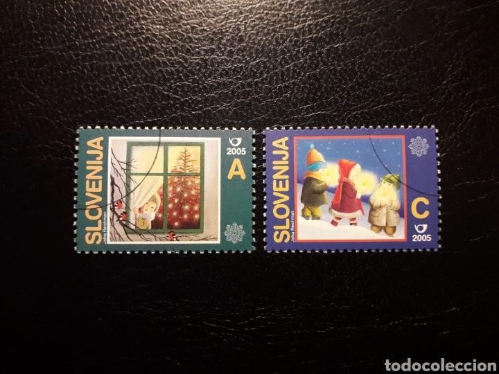 ESLOVENIA. YVERT 488/9. SERIE COMPLETA USADA. NAVIDAD (Sellos - Extranjero - Europa - Eslovenia)