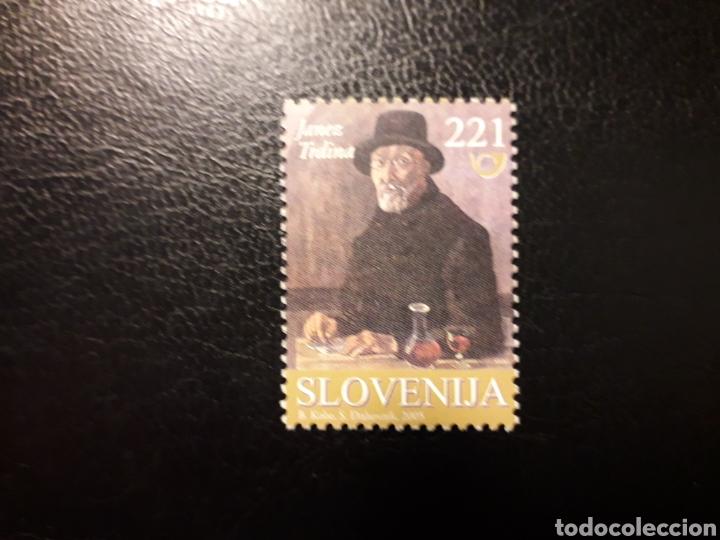 ESLOVENIA. YVERT 457. SERIE COMPLETA NUEVA SIN CHARNELA. LITERATURA. BORIS KOBE (Sellos - Extranjero - Europa - Eslovenia)