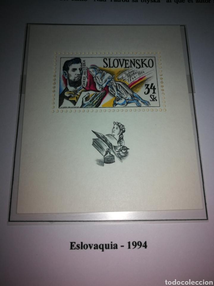 ESLOVAQUIA : HB N°3,AÑO 1994,MNH (Sellos - Extranjero - Europa - Eslovenia)