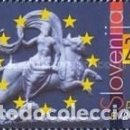 Sellos: ESLOVENIA 2001 - SLOVENIE - DIA DE EUROPA - YVERT Nº 316**. Lote 160089266